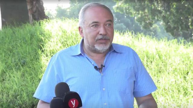 Avidgor Liberman chairman of Yisrael Beiteinu Party (Photo: Roee Idan)