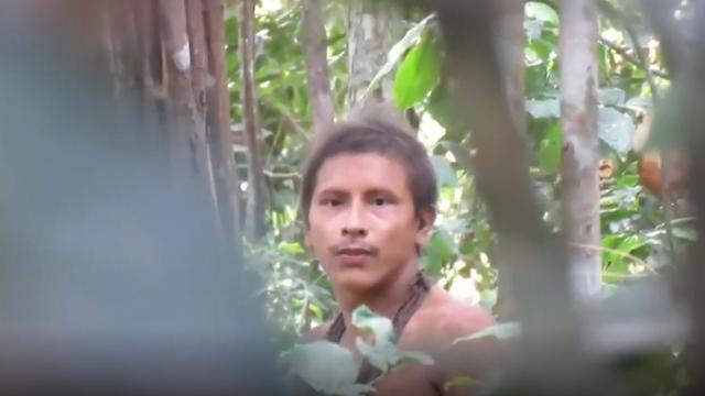 תיעוד ברזיל שבט מבודד ביערות הגשם אמזונס ()
