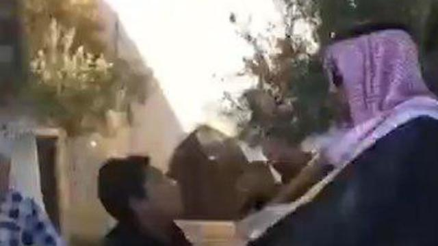 Mohammed Saud is attacked on the Temple Mount