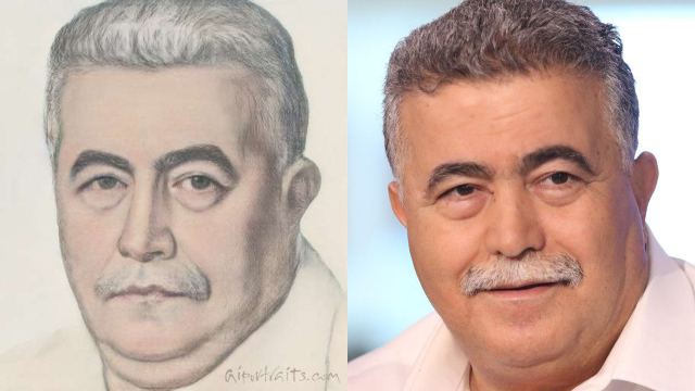עמיר פרץ (צילום: אבי מועלם, AI Portraits)