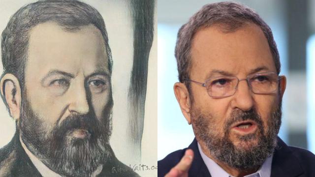 אהוד ברק (צילום: אבי מועלם, AI Portraits)