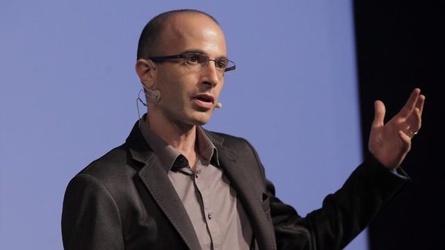 Yuval Noah Harari (Photo: Amit Sha'al)