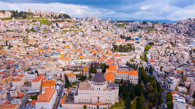 The northern city of Nazareth (Photo: Shutterstock)