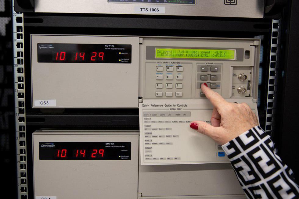 Атомные часы. Фото: Алекс Коломойски