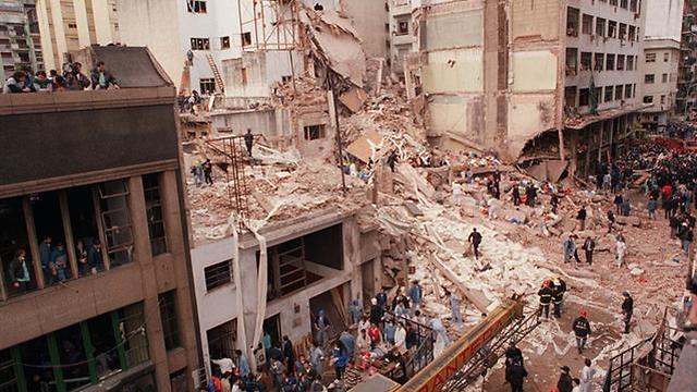 The scene of the 1994 AMIA bombing (Photo: Wikimedia Commons)