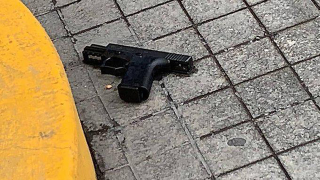 The murder weapon used in the fatal shooting of two Israelis in Mexico City