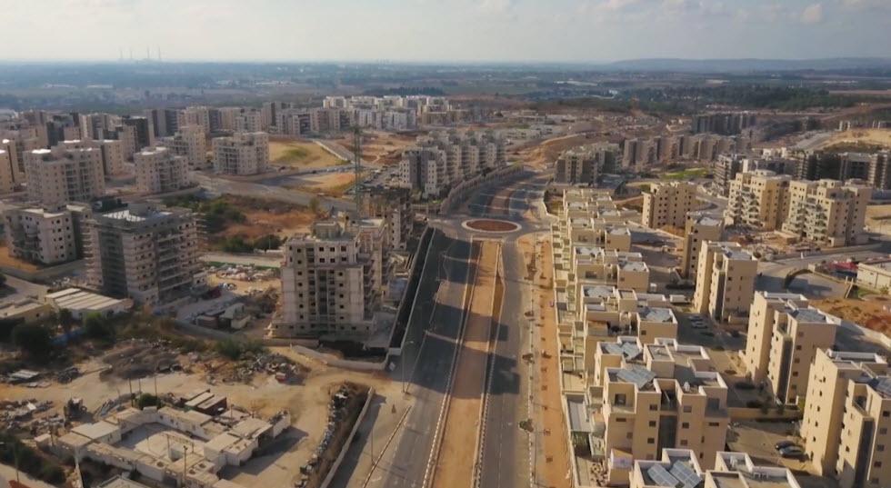 העיר חריש במבט ממעוף הציפור (צילום: מור שקיפי לאטי)