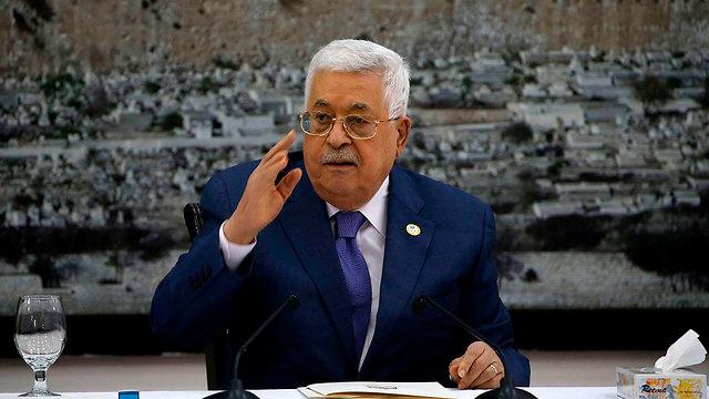 PA leader Mahmoud Abbas in Ramallah (Photo: AFP)