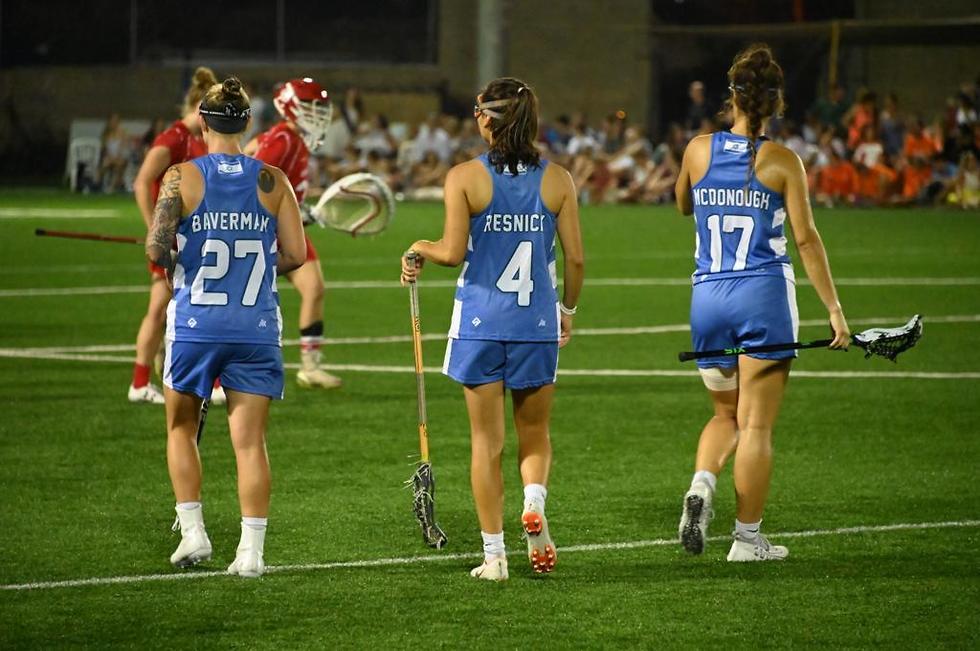 נבחרת ישראל בלקרוס (צילום: איחר ברון אורטיז)