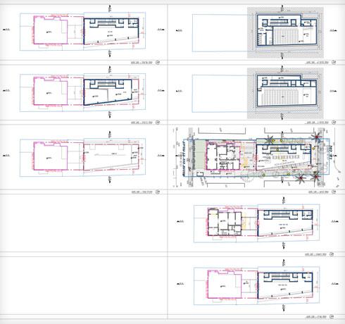 מרתף ומעליו 4 קומות (שרטוט: מתוך mavat.moin.gov.il)