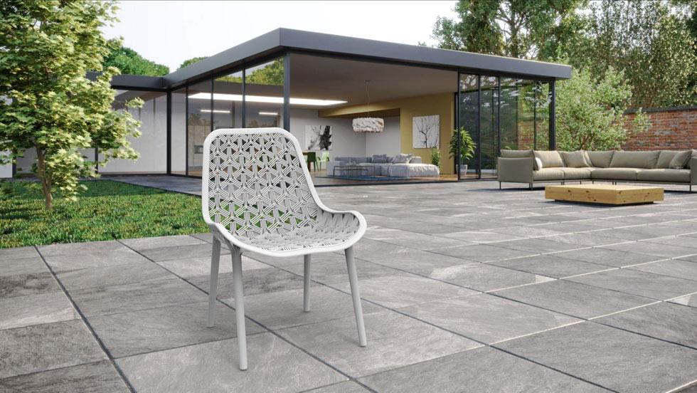 כיסא Hex&flex, בעיצוב דניס שרמן. החיפוש אחר פתרון שיחליף את הספוג במושבים נוחים מעסיק מעצבים רבים (עיצוב: דניס שרמן)