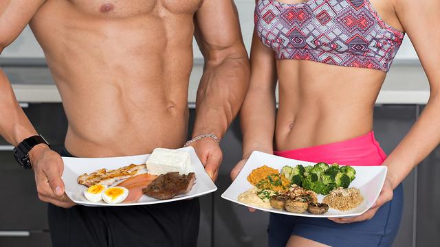 חלבון מהצומח מול חלבון מהחי (צילום: Shutterstock)