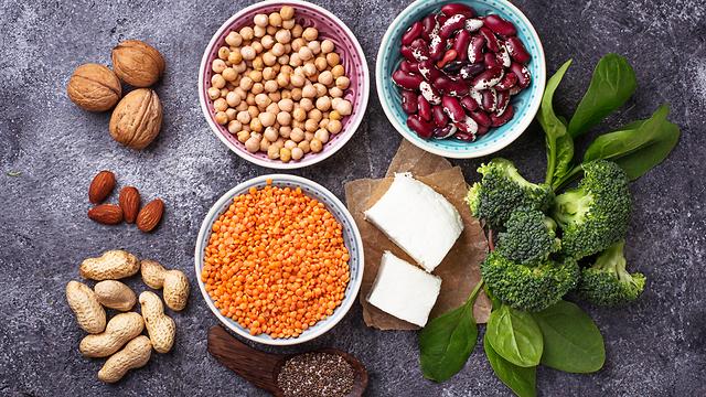חלבון מהצומח (צילום: Shutterstock)