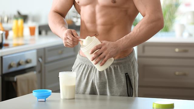 שייק חלבון (צילום: Shutterstock)