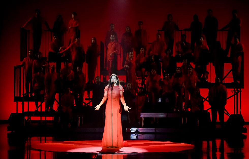 לא כולם בספרד אוהבים את הבחירה של הזמרת הקטלונית לשיר פלמנקו (צילום: Juan Naharro Gimenez/GettyimagesIL)