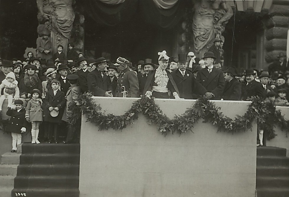 A Polish reception for the French team (Photo: National Library)