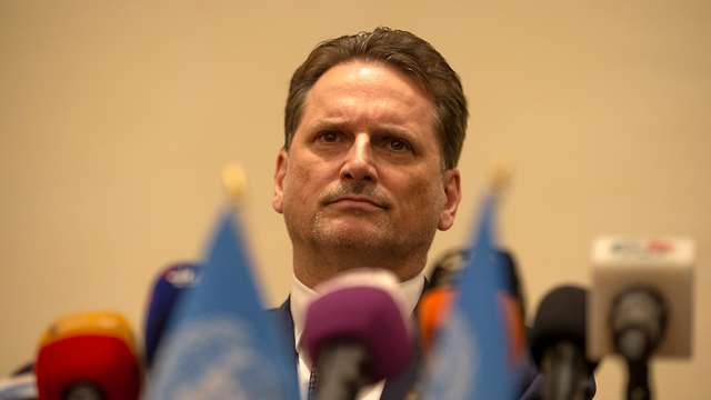 Pierre Krahenbuhl, commissioner-general of the United Nations Relief and Works Agency (Photo: EPA)