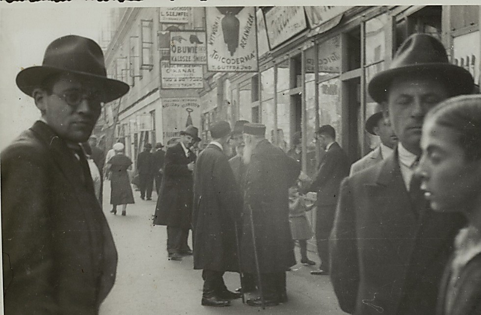 The Jewish streets of Warsaw (Photo: The National Library)