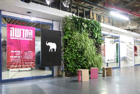 חלל התערוכה בתחנה המרכזית החדשה בת''א (צילום: טליה דוידי, המחלקה לארכיטקטורה, בצלאל אקדמיה לאמנות ועיצוב, ירושלים)