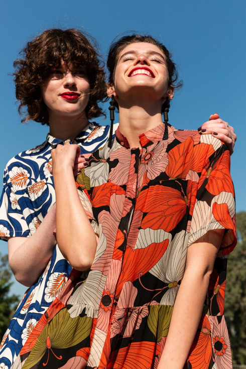 סטלה ולורי ביריד טרנדה של עמותת רוח נשית (צילום: דור שרון)