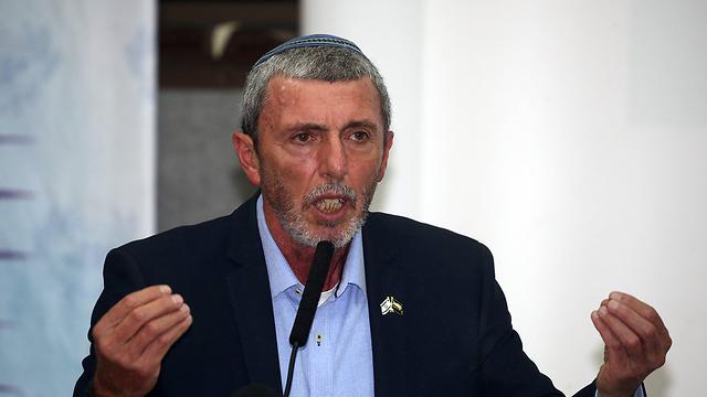 Minister of Education Rafi Peretz (Photo:Yariv Katz)