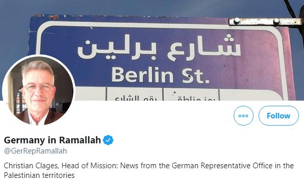 Germany in Ramallah