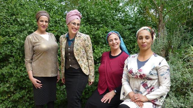 Azamra, Aderet, Ilana and Shiran of the Kama Party