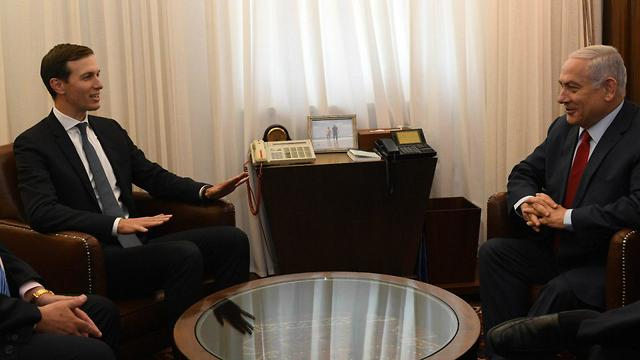Jared Kushner and Benjamin Netanyahu meeting in Jerusalem, July 31, 2019 (Photo: GPO)