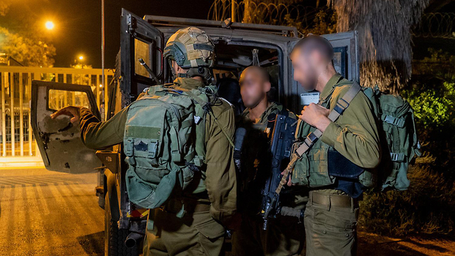 IDF troops protecting Gaza border communities during the recent infiltration incident (Photo: IDF Spokesperson's Unit)