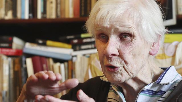 Maria Mostowska, 96, shares her memories