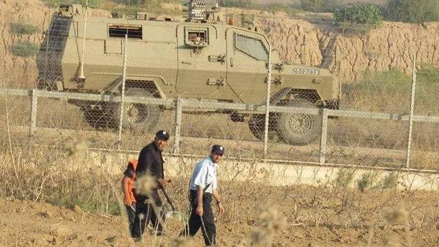 На границе сектора Газы. Фото: архив