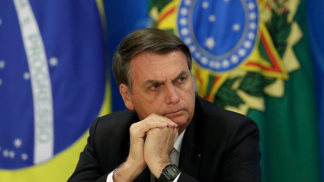 נשיא ברזיל ז'איר בולסונרו כריתת יערות אמזונס (צילום: AP)