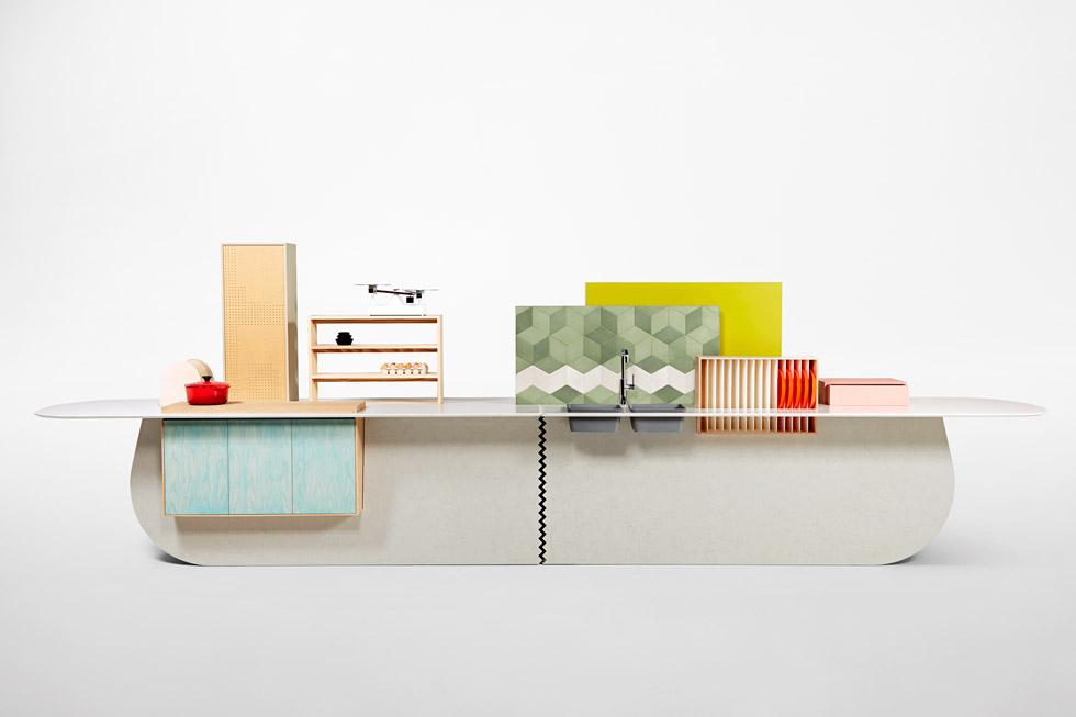 סטודיו Raw edges: חיבורים מעניינים ותפיסות קונספטואליות חדשניות, דרך אי שמשלב אחסון, אוכל ואפשרויות ישיבה בצוותא, אי בחדר הרחצה ואפילו שולחן פינג פונג ייחודי