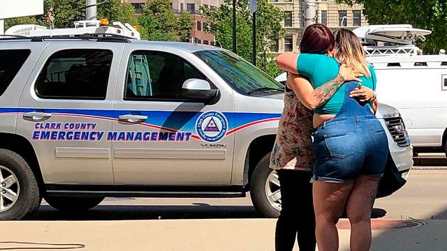 אירוע ירי רצח דייטון  אוהיו  (צילום: AP)