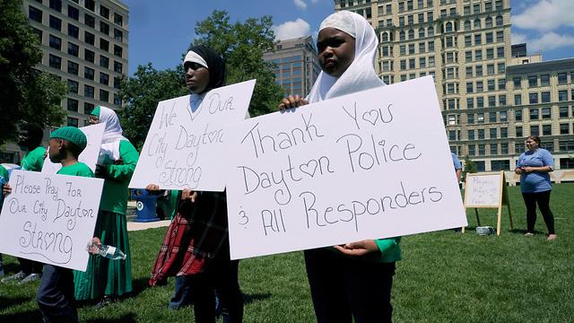 אירוע ירי רצח דייטון  אוהיו  (צילום:  רויטרס)