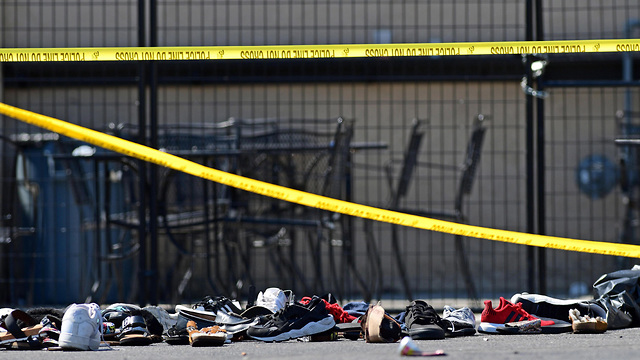 אירוע ירי רצח דייטון  אוהיו  (צילום: EPA)