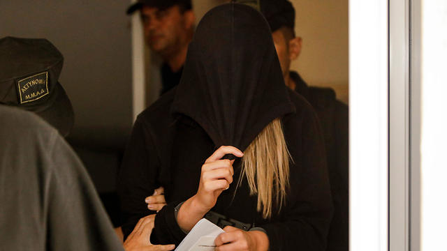 The UK woman brought before court in Cyprus (Photo: AFP)