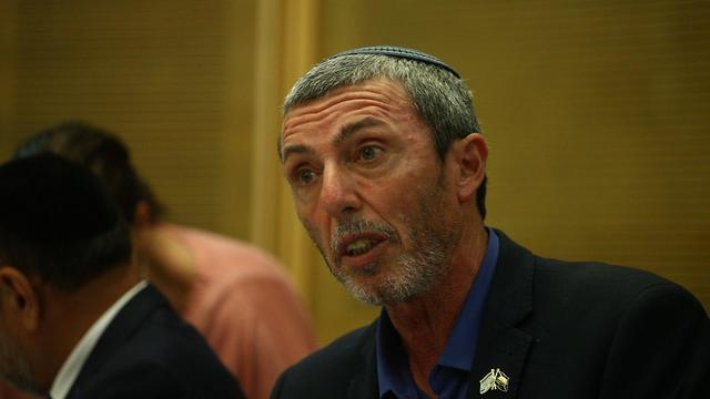 Education Minister Rabbi Rafi Peretz (Photo: Ohad Zwigenberg)