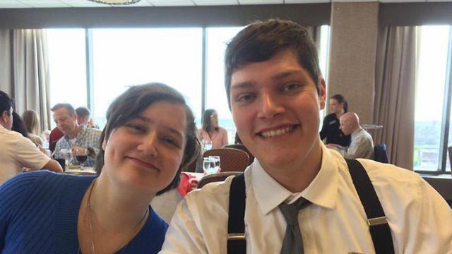קונור בטס הרוצח ירי דייטון אוהיו ואחותו מייגן בטס ()