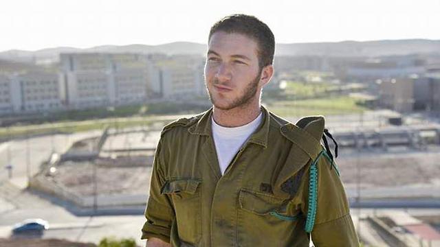 Transgender IDF soldier Leon Bor (Photo: Amit Gershon)