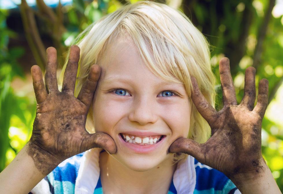 ילדים מועדים לפורענות בכל הנוגע להידבקות בחיידקים ולהדבקה של סביבתם הקרובה (צילום: Shutterstock)
