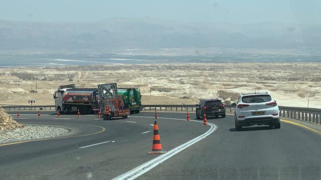 כביש 90  (צילום: לירי כוכבי)