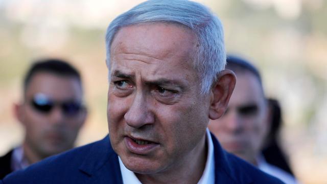 בנימין נתניהו פיגוע גוש עציון רב״ט דביר יהודה שורק דביר שורק (צילום: AFP)