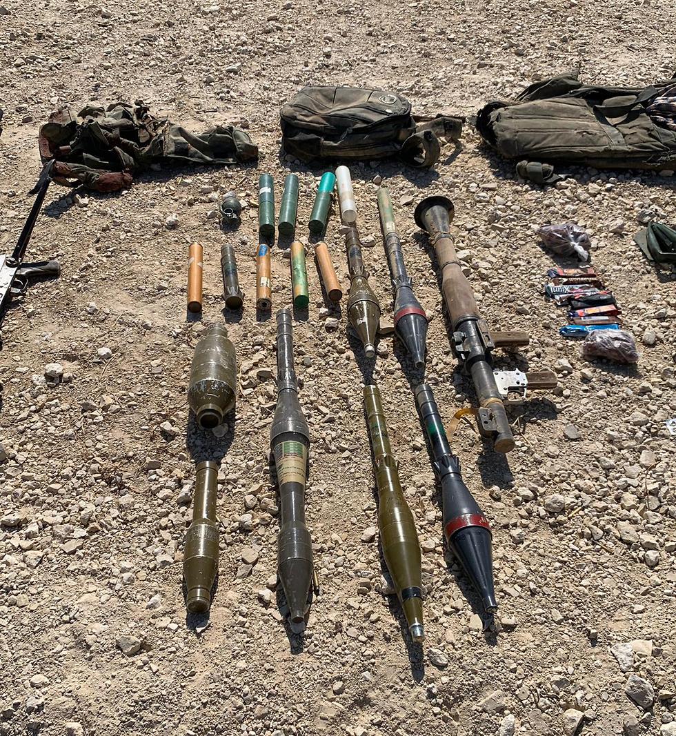 כלי הנשק שנתפס הבוקר (צילום: דובר צה