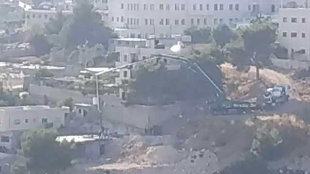 בנייה פלסטינית אפרת שטח C (מיכאל שפרבר)