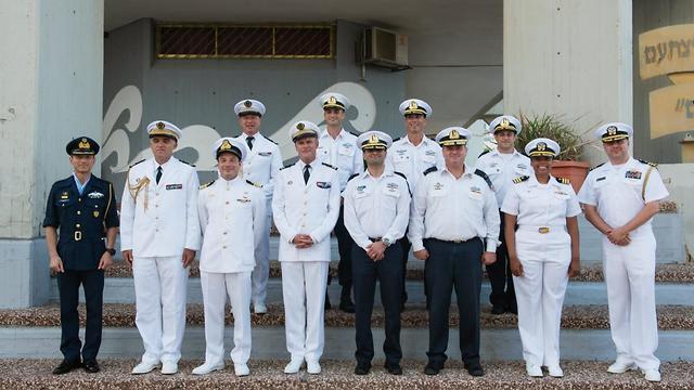 Participants in the international drill (Photo: IDF Spokesperson's Unit)