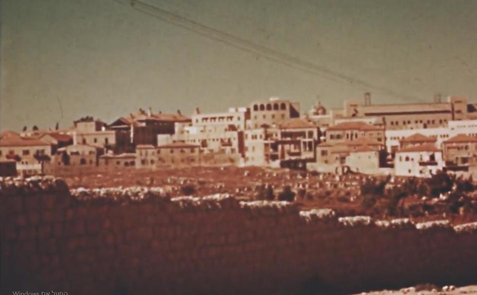The Mamilla Cemetery (Photo: Jerusalem Cinematheque archive)