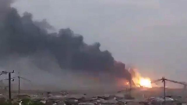 פיצוץ במחסן אמל