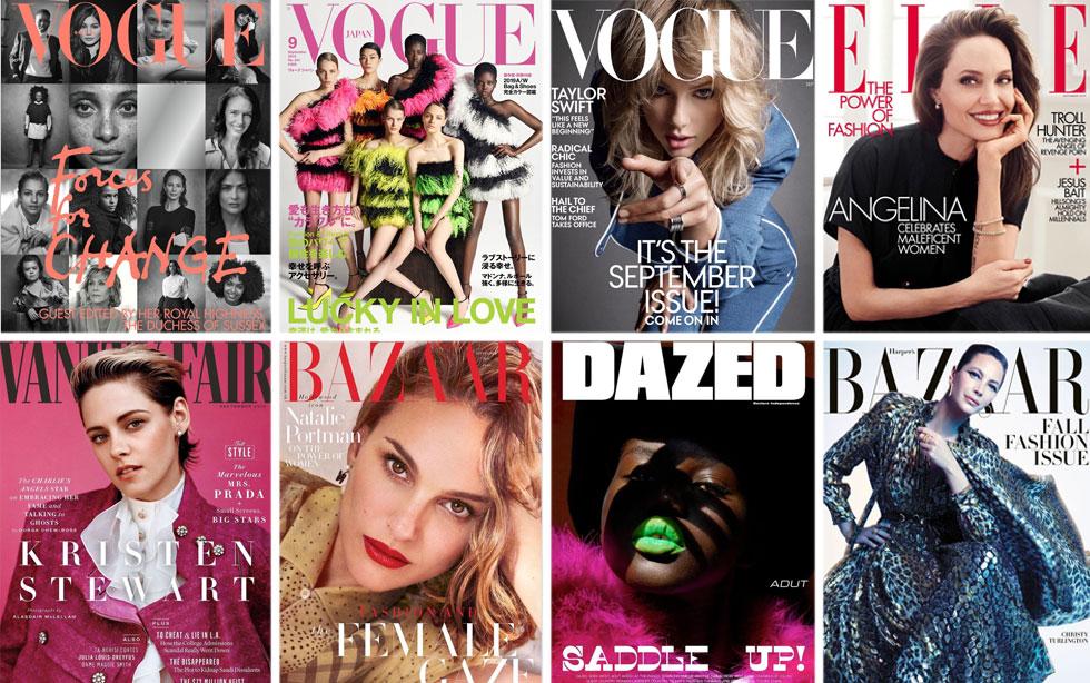 מניחים את האופנה בצד לרגע, לטובת העצמה נשית. גיליונות ספטמבר 2019 (צילום: שער המגזין)