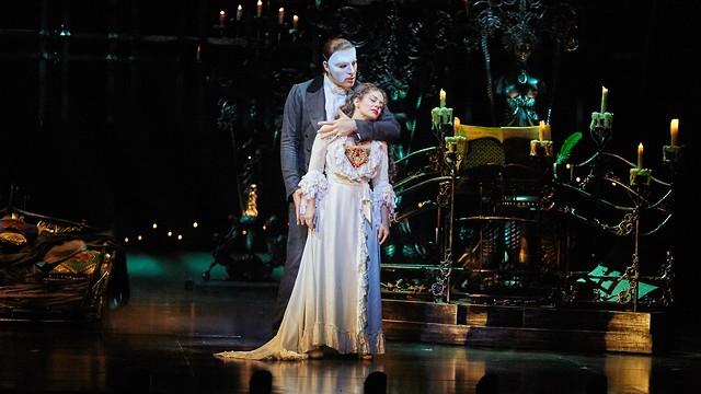 פנטום האופרה בישראל (צילום: שוקה כהן)